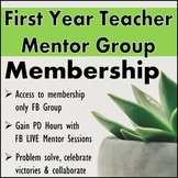 First Year Teacher: Encouragement & Resources (Plus PD hours!)