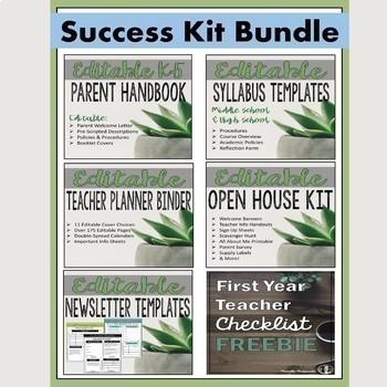 First Year Teacher Success Kit Plus BONUS Membership
