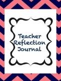 First Year Teacher Reflection Journal