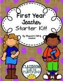 First Year Teacher Starter Kit!!