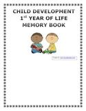 First Year of Life Digital Memory Book
