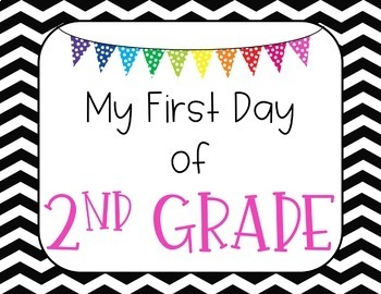 First and Last Day Photo Signs-A FREEBIE