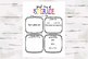 First and Last Day of 1st Grade Activity Sheets, Back 2 School & End of the year