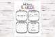 First and Last Day of 1st Grade Activity Sheets, Back 2 Sc