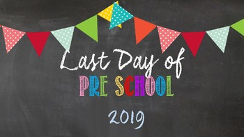 First and Last Day of... 2019 Complete Kit (chalkboard)