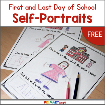 First Day Portraits (& Last Day, Too!)