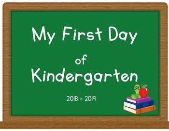 First (and Last) day of... K-5th Grade Signs