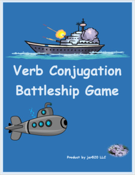 First and Second Conjugation Latin verbs Naumachia Battleship game