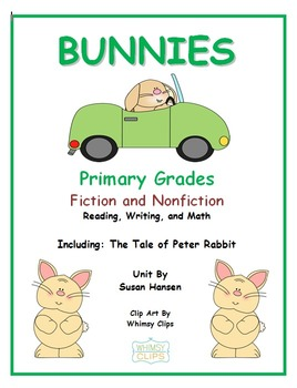 Bunnies and Rabbits Unit: Second or Third Grade Activities