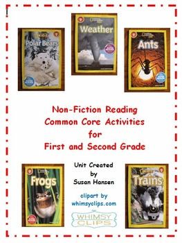 Weather, Frogs, Polar Bears, Trains and Ants: Nonfiction Reading