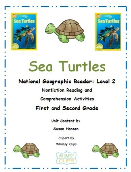Ocean Animals: Sea Turtles National Geographic Unit Primary Grades