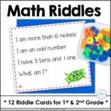 First and Second Grade Riddle Cards for 101-120