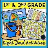 First and Second Grade Sight Word Activities Bundle