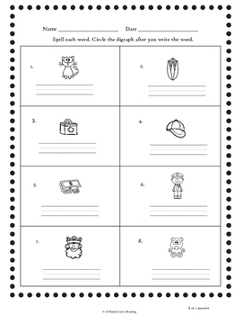 Orton-Gillingham Based Level One Spelling Success Freebie Excerpt