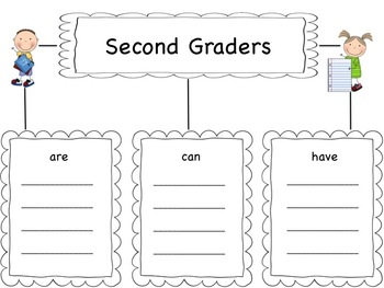 Back To School Tree Map Graphic Organizer