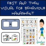 First and Then Visuals for Autism and Behavior Management| printable