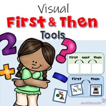 First and Then for Visual Behaviour Management