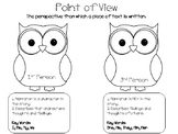 First and Third Person Point of View Activity