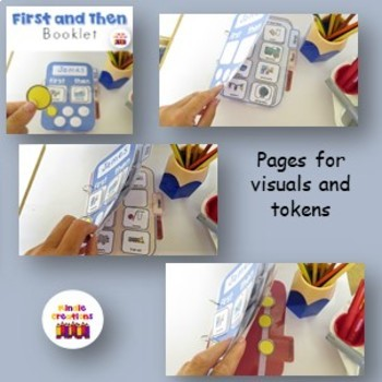 First andThen Booklet for kids with Autism