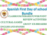 First day Spanish Bundle activities