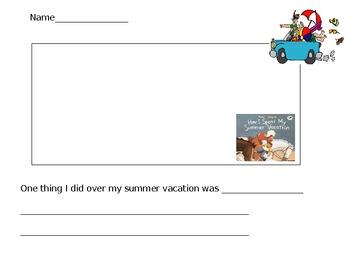 First day activity/summer