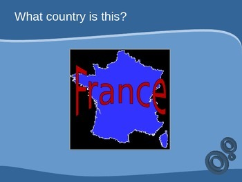 First day of School / Back-to-School Night PPT:  la francophonie