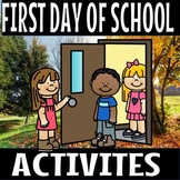 First day of school activities(50% off for 48 hours)