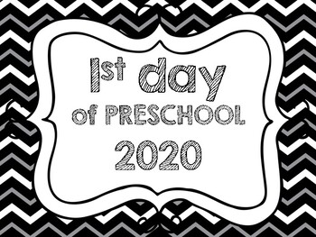 First day of school signs (daycare-preschool-K-12th grade, even college)