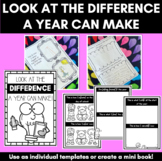 Look at the difference a year can make | First day of school template