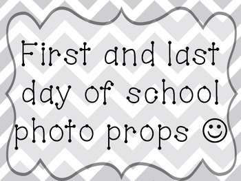 First day/Last day photo booth FREEBIE!!!