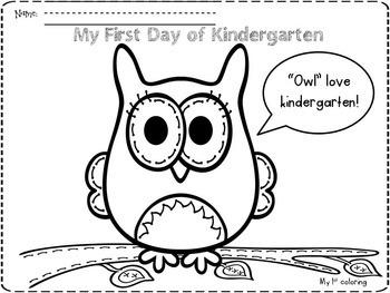 First few weeks of Kindergarten Pack