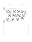 First grade Assessment #1