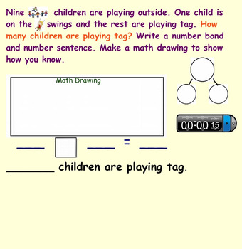 First grade ENGAGE NY Math module 1 lessons Topic I, J & End of module review