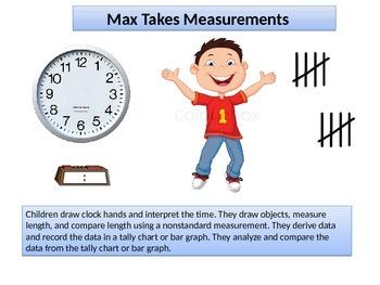 First grade   Math Critical Area 3  Max's Measurement