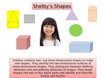 First grade Math Critical Area 4  Shelby's Shapes