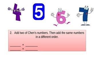 First grade  Performance task Chapter 3