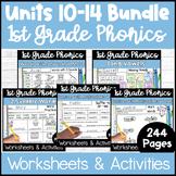 First Grade Phonics Units 10-14