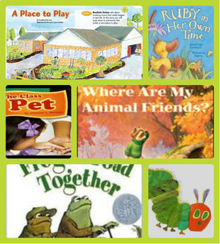 First grade Unit 3 bundle of Pearson's Reading Street
