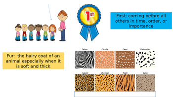 First grade Unit 3 story 5 I'm a Caterpillar