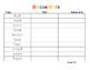 First grade journeys rainbow write unit 5