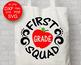 First grade squad svg 1st grade svg School svg Teacher tribe shirt design kids