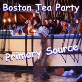 Boston Tea Party: A First-hand Account