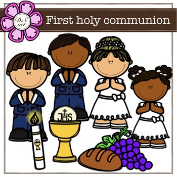 Free First Holy Communion Clip Art | First holy communion, First communion  banner, First communion