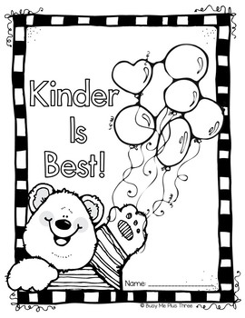 First Day of School Activity Coloring Page Kindergarten, First, Second Grade