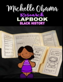 First lady Michelle Obama Lapbook Research Project Black History Month