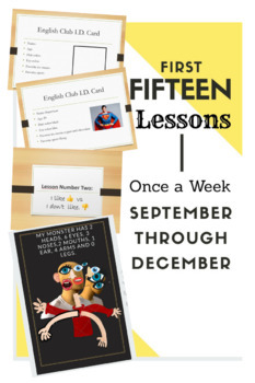 First lesson for young (5-9) Esl/Ell language learners.