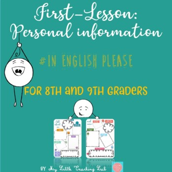 First-lesson: let's collect personal information!