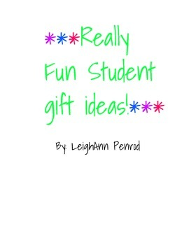 First of the year student gift ideas and more