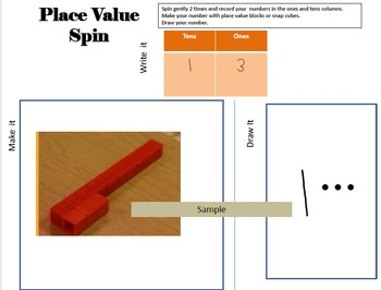 First or second grade place value TEKS 1.2BC