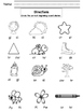 First sound consonant cluster printable. 2 versions for differentiation